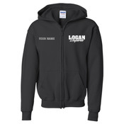 LEZIP - 18600B Youth Heavy Blend™ Full-Zip Hooded Sweatshirt