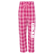 LELEG - F20Y Youth Team Pride Fashion Flannel Pants with Pockets