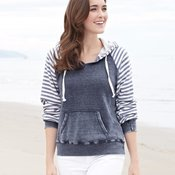 W15106 Ladies' Angel Fleece Sanded Piper Pullover