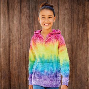 1162Y Youth Courtney V-Notch Sweatshirt Thumbnail